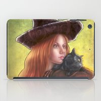 witch iPad Cases featuring Witch by Miguel Angel Carroza