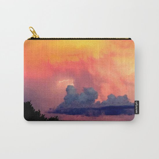 Lightning over Madison Carry-All Pouch