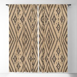 Traditional Bohemian African Moroccan Style  Blackout Curtain