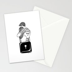 Lock With You Stationery Cards