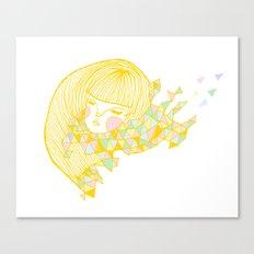 Breezy Canvas Print