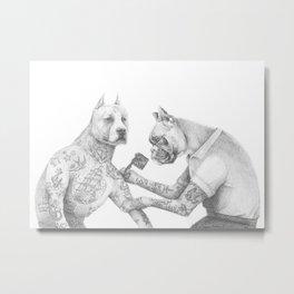 The Tattooist Metal Print