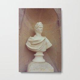 Roman Statue Bust Metal Print