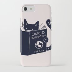 World Domination For Cats iPhone 7 Slim Case