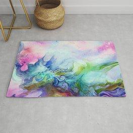 Creative Watercolour / Watercolor Print Rug
