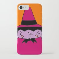 witch iPhone & iPod Cases featuring Witch by Soju Shots