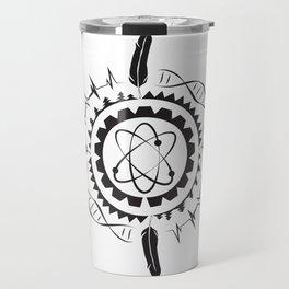Native Stem Mandala Travel Mug