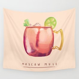 Moscow Mule Wall Tapestry