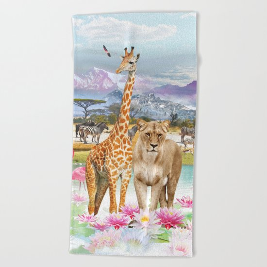 Africa Beach Towel