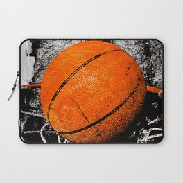 The basketball Laptop Sleeve