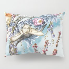 Tricksters in the Tree Top Pillow Sham