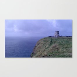 Fortress by the Sea Canvas Print