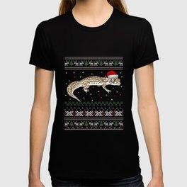 Leopard Gecko Ugly Christmas Sweater T-shirt