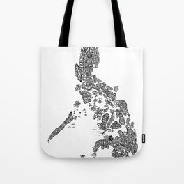 Paranormal Philippines (white) Tote Bag