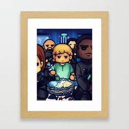 The Hunger Games - Frosting at Gunpoint Framed Art Print