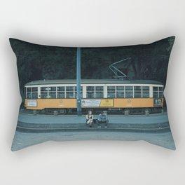 Wrong Stop, Guys Rectangular Pillow