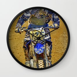 Dirtbiking Is My Religion / MX Champion Wall Clock