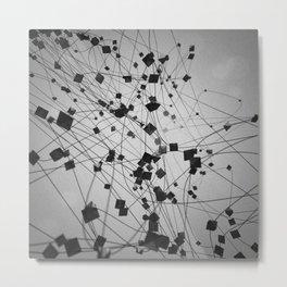 Plato / Octahedron = Air Metal Print