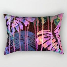 Drippy Jungle {acid} Rectangular Pillow