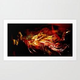 The Firebreather Art Print