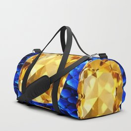 SEPTEMBER CHAMPAGNE TOPAZ GEM BIRTHSTONES Duffle Bag