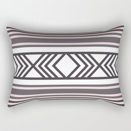 American Native Pattern No. 44 Rectangular Pillow