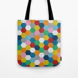 Honeycomb 3 Tote Bag