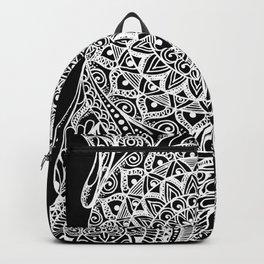 Mandala of deep meditation Backpack