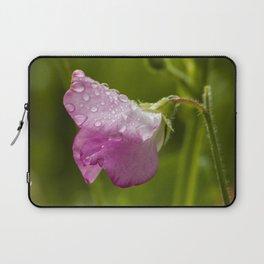 Flower in the Rain Laptop Sleeve