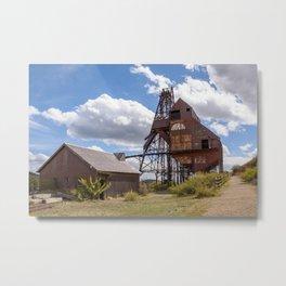 abandoned mine Metal Print