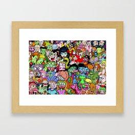 Sideshow Freaks And Geeks Framed Art Print