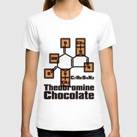 chocolate T-shirts featuring Chocolate by AURA-HYSTERICA
