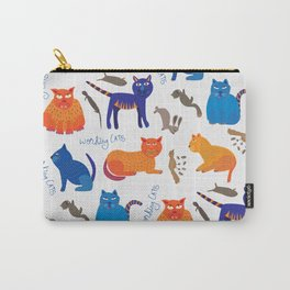 Working Cats Carry-All Pouch