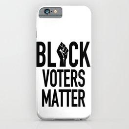 Black Voters Matter iPhone Case