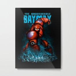 Unbreakable Hero Metal Print