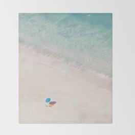 The Aqua Umbrella Throw Blanket