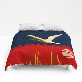 Ambition or trumpeter swan Comforters