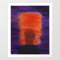 rothko Art Prints featuring Rothko Homage by ElGlasgow