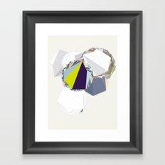 ‡ R ‡ Framed Art Print