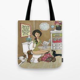 Treat Your Wiener Good Tote Bag