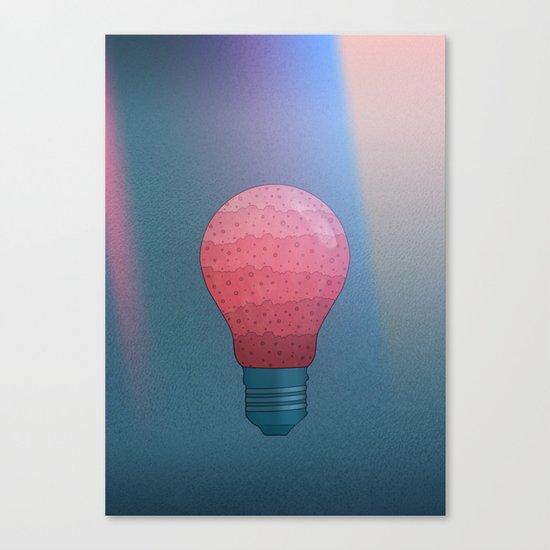 Candy Lightbulb Canvas Print