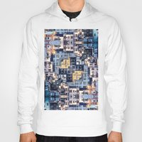 community Hoodies featuring Community of Cubicles by Phil Perkins