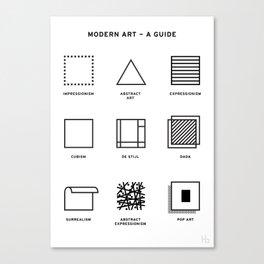 Modern Art Canvas Print