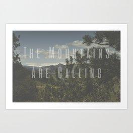 The Mountains Are Calling - Golden, Colorado Photography Art Print