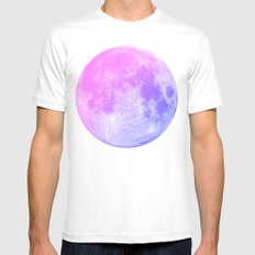 Neon Moon MEDIUM Mens Fitted Tee White