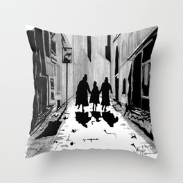 Oliver's Fate Throw Pillow