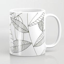Inky Leaves Coffee Mug