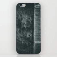 waterfall iPhone & iPod Skins featuring Waterfall by Errne