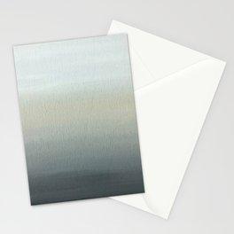 Gray Horizon  Stationery Cards