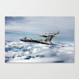 V-Force Canvas Print